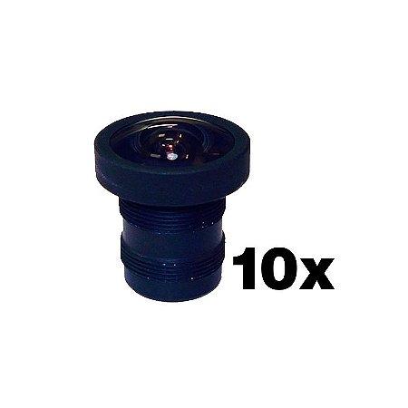 Mini lente fixa 2.8mm para Câmera Infravermelho - 0280B (10Unidades)