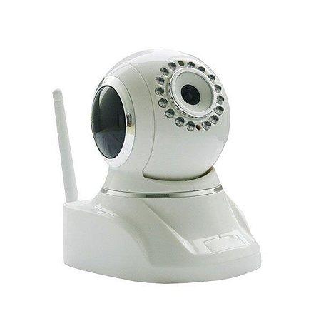 Câmera IP Wi-Fi Wireless 1.0 Megapixel HD 720p Onvif P2P - JTC APM-H803