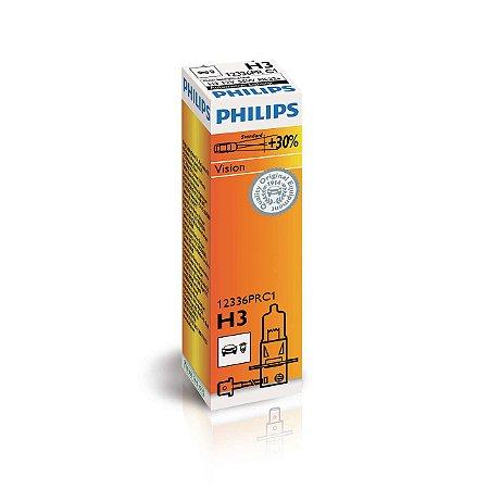 Lâmpada H3 Philips Standard - Par (2 unidades)