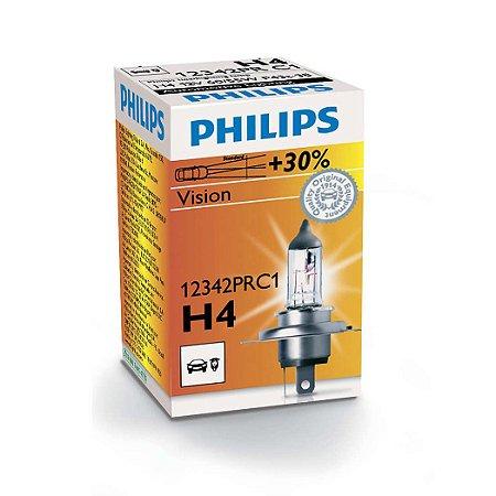 Lâmpada H4 Philips Standard - Par (2 unidades)