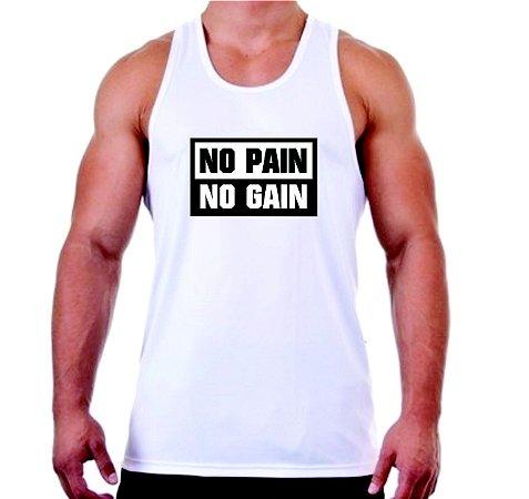 REGATA MASCULINA NO PAIN NO GAIN - 1