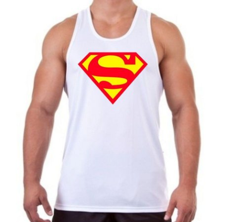 REGATA MASCULINA SUPERMAN