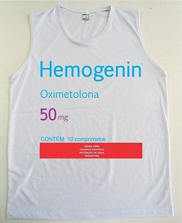 REGATA MACHÃO HEMOGENIN OXIMETOLONA