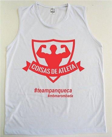 REGATA MACHÃO COISAS DE ATLETA