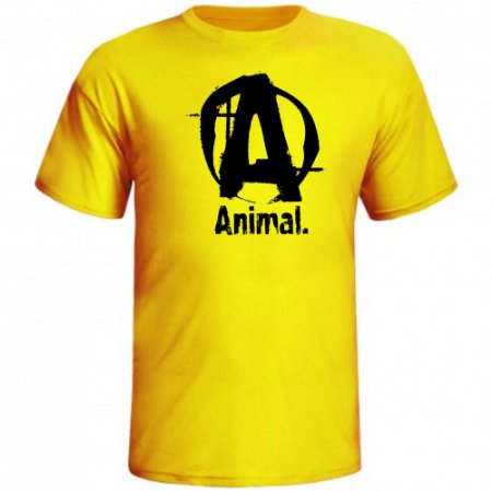 CAMISETA ANIMAL LETRA A