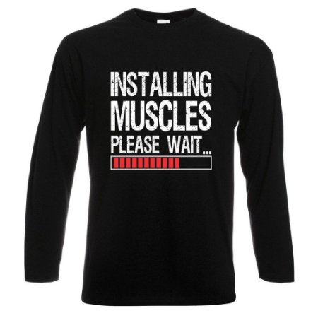 CAMISETA MANGA LONGA INSTALLING MUSCLES