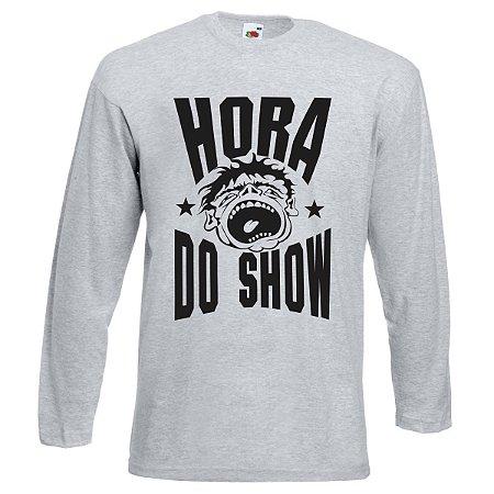 CAMISETA MANGA LONGA HORA DO SHOW