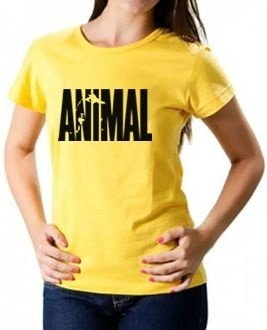 Camiseta Baby Look Animal