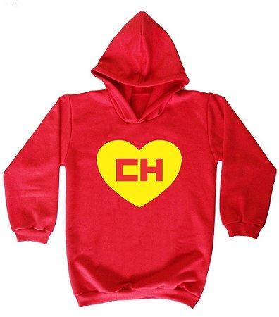 Blusa de Moletom Chapolin colorado cor vermelha