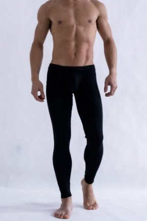 Calça Legging Masculina Suplex Fitness Cor Preta