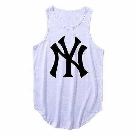 Regata Longline New York Yankees cor Branca