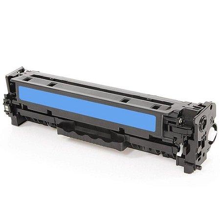 Toner CF381A CE411A Compativel Azul HP M375 M451 475 M476 Universal