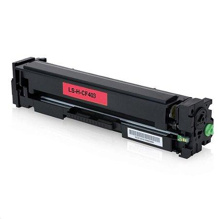 Toner CF403X 201X Magenta HP M252DW M277DW M252 M277 2,3K Compativel