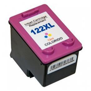 Cartucho HP 122XL Colorido | CH564HB | 13ML