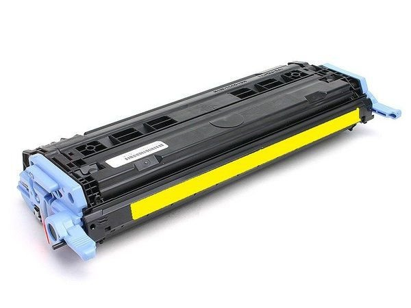 Toner Q6002A Q6002 Amarelo HP 1600 2600n 2605 CM1015 CM1017 Compatível