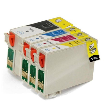 Kit 4 Cartucho de Tinta Epson | T140120 T140220 T140320 T140420 | Compativel