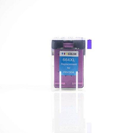 Cartucho Tinta Compativel Hp 664xl Colorido Deskjet Ink Advantage