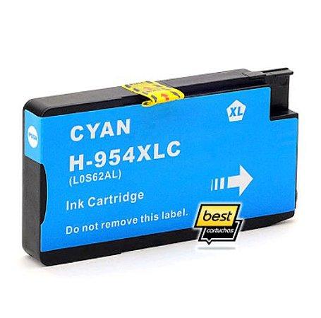 Cartucho HP 954XL HP Officejet Pro 8700 8715 7740 8710 8720 8740 8210 8716 8725 Ciano Compativel 25ml