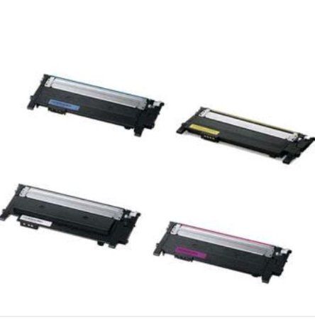Kit 4 Toners Samsung CLT-404S 404S C430 C430W C433W C480 C480W C480FN C480FW CMYK Compativel 1.5k