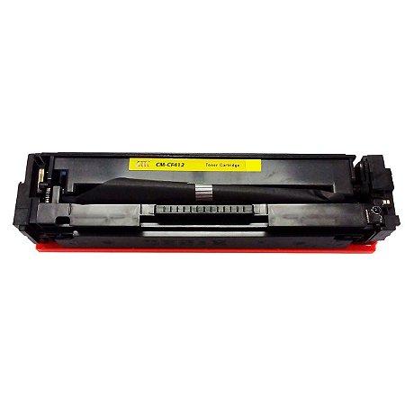 Toner Compativel CF412A 12A Amarelo HP| M452DW M452DN M477FDW M477FNW M477FDN