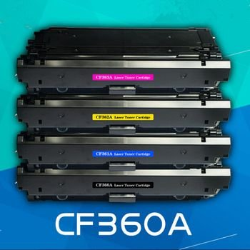 Kit Toners CF360 CF361CF362 e CF363 M552DN M553N M553X CMYK Compativeis HP