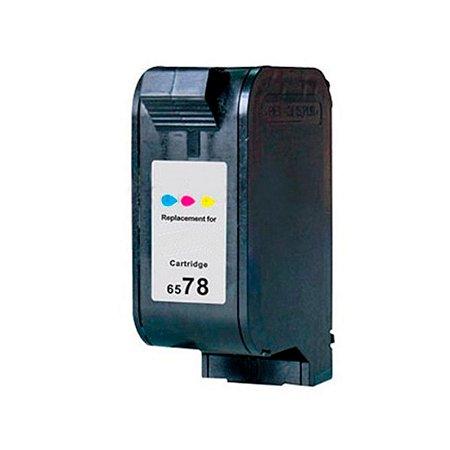 Cartucho de Tinta Compatível HP 6578D 19ML Colorido