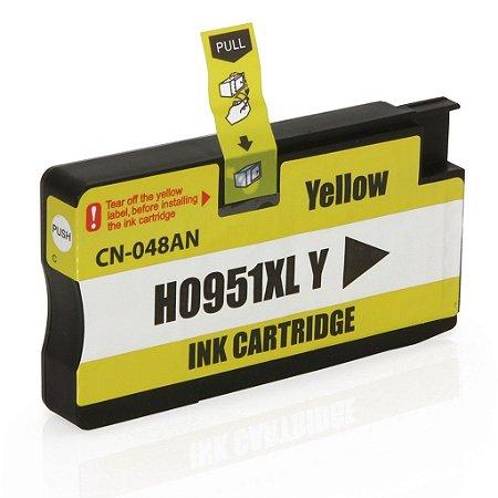 Cartucho HP 951xl Amarelo CN048AL 951 8600W 251DW Compatível 1.5K