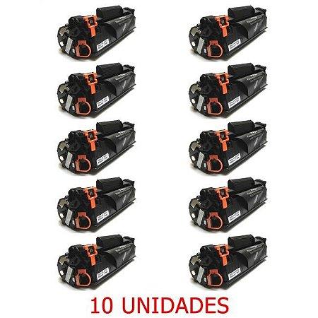 Toner CF283A 283A 83A Compativel Kit 10 Unidades HP M127FN M127 M125 M125A M201 M225 M226 M202