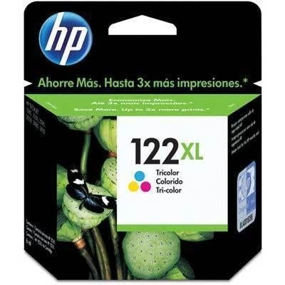 Cartucho HP 122XL Tricolor CH564HB 1000 2000 2050 Original