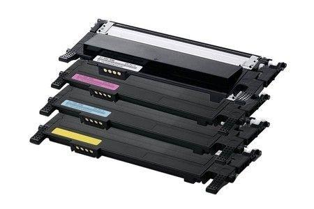 Kit Toner Samsung CLP365W K406S C406S M406S Y406S CLP-365 CLX-3305W 3305FW Compatível AGS