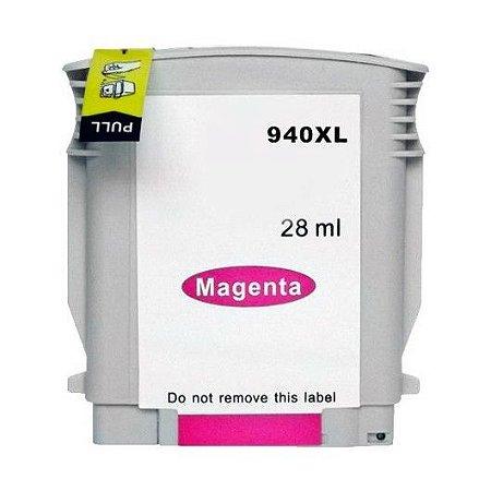 Cartucho HP 940XL Magenta C4908 C4908AL Compatível
