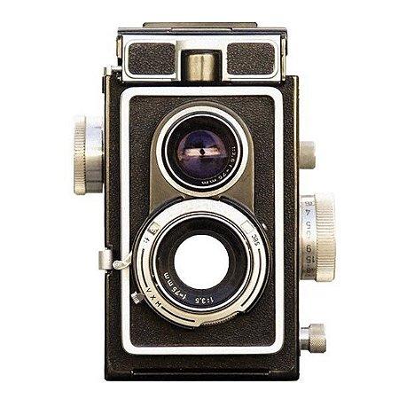 Adesivo para Olho Mágico - Câmera Retrô