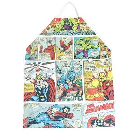 Avental - Heróis Marvel - Colorido
