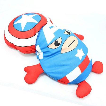 Almofada 2 em 1 - Capitão América