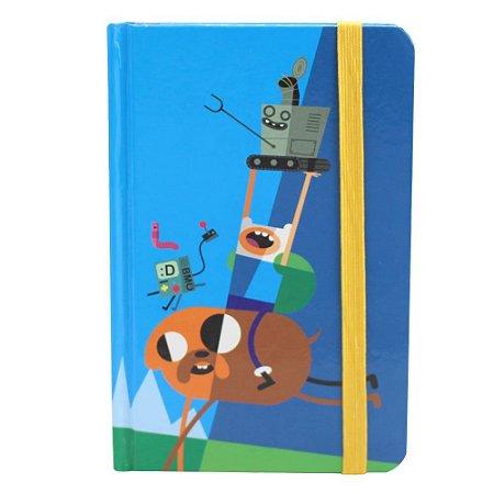Caderno de Anotações Hora de Aventura - Finn, Jake e Amigos