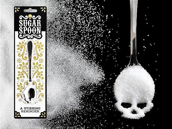 Colher de açúcar Caveira