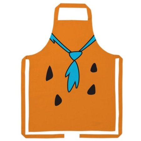 Avental de Algodão Flintstones - Fred Body