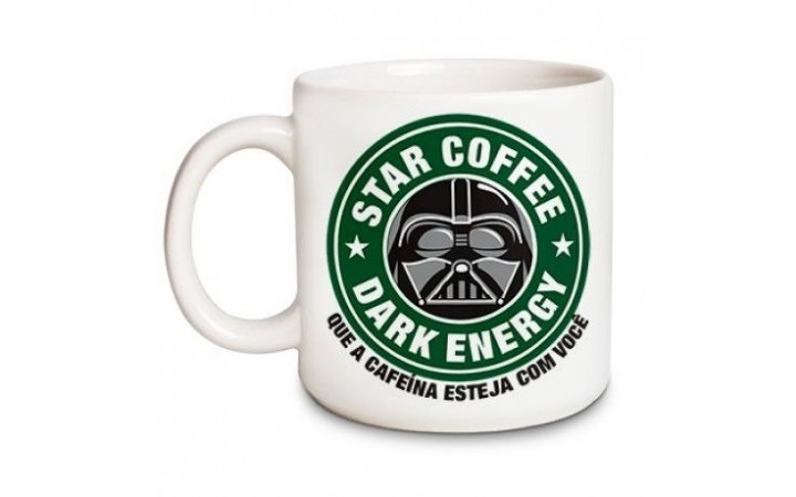 Caneca Chocolate Branca Star Coffee