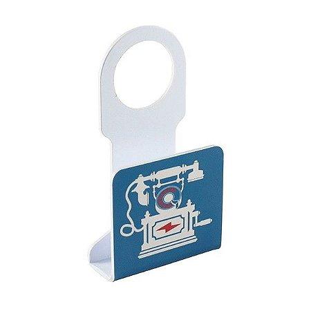 Porta Carregador de Telefone Retrô