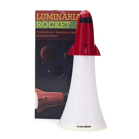 Luminária e Lanterna 2 em 1 Rocket com Led