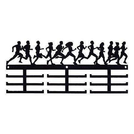 Suporte de Parede para Medalhas - Corrida