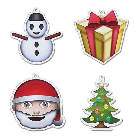 Enfeite de Árvore de Natal - Emoji