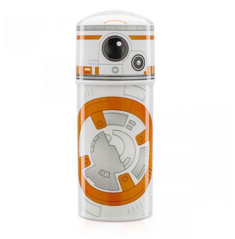 Garrafinha de Canudo Retrátil Star Wars - BB8
