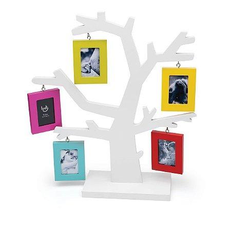 Porta Retrato Árvore Colorida