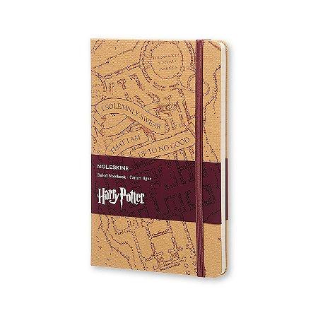 Caderno Moleskine Edição Limitada Harry Potter - O Mapa do Maroto