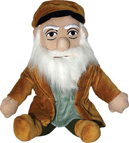 Boneco Leonardo Da Vinci - Little Thinkers