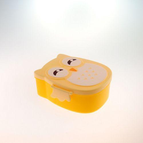 Marmitinha Coruja Amarela