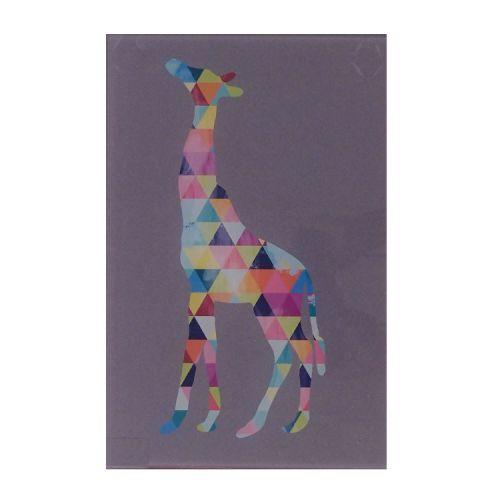 Quadro Triângulos - Girafa