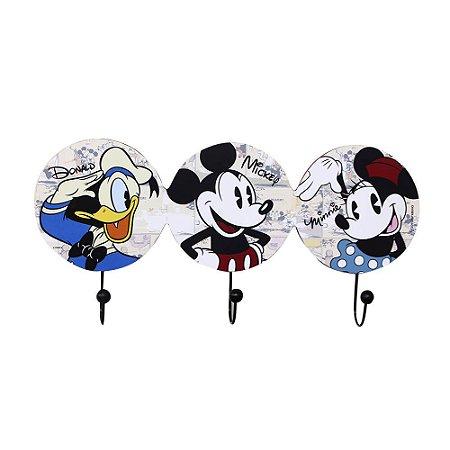 Pendurador de 3 Ganchos  - Galera Mickey