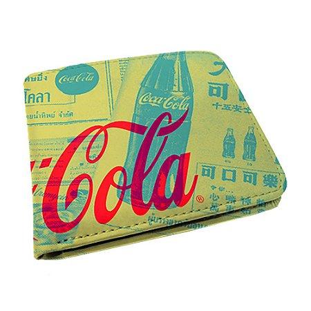 Carteira Coca-Cola - Newspaper